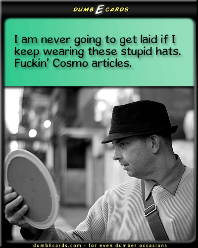 Bad Sex Hat - top hat,sex, Cosmor-rated ecards, free greeting cards, stupid ecards, free e cards, free e greeting cards,